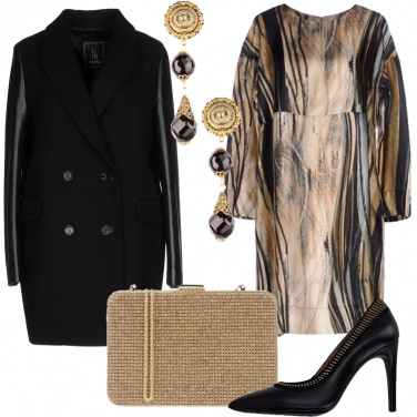 Outfit Elegante d\'inverno