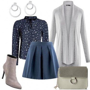 Outfit Cardigan grigio