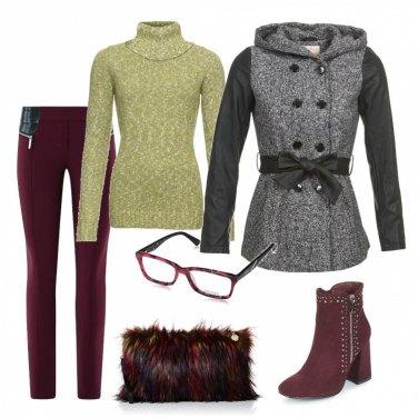 Outfit Borsa ecofur