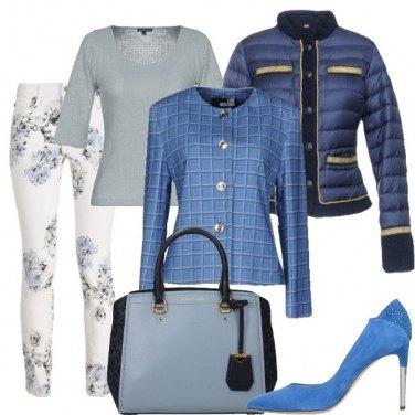 Outfit Fantasia d\'azzurro