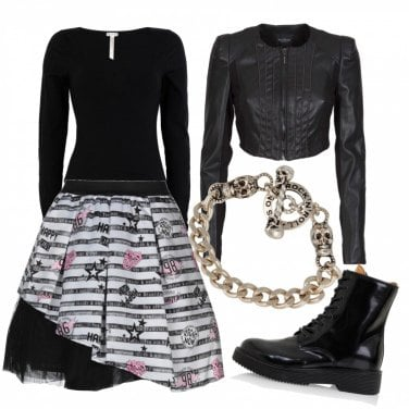 Outfit Full Rock