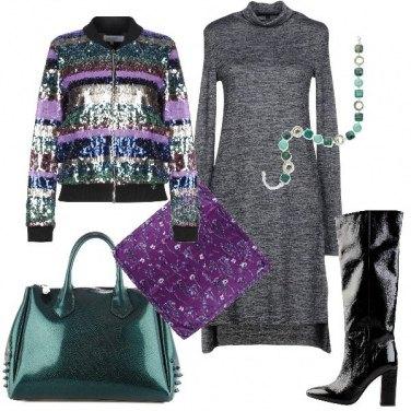 Outfit Colori forti per gli accessori
