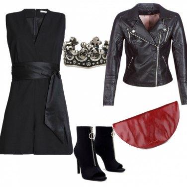 Outfit Regina del rock