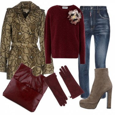 Outfit Urban, trendy-chic