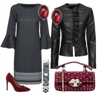 Outfit Glam spendendo poco