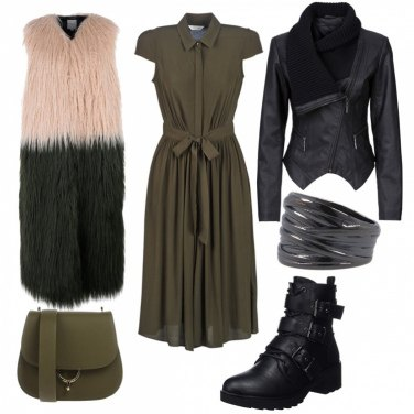 Outfit Rock militare
