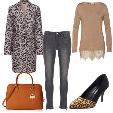 Outfit Aperitivo leopardato con le amiche