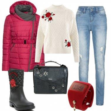 Outfit La ragazza con le rose