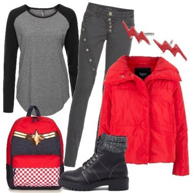 Outfit Supergirl