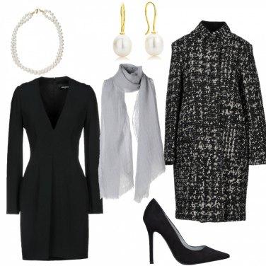 Outfit L\'eleganza del cappotto sale e pepe