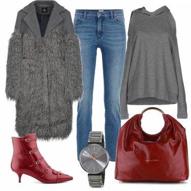 Outfit Caldo cappotto