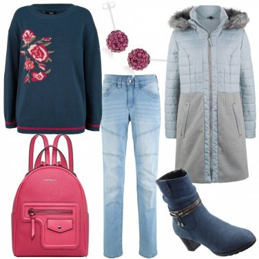 Outfit Zainetto rosa