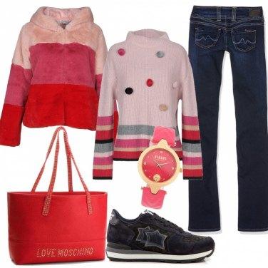 Outfit Con le amiche, dopo la scuola