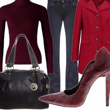 Outfit Rosso relativo.