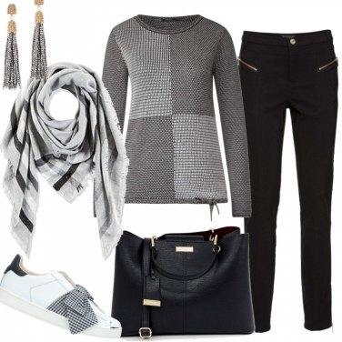Outfit Quadri e riquadri