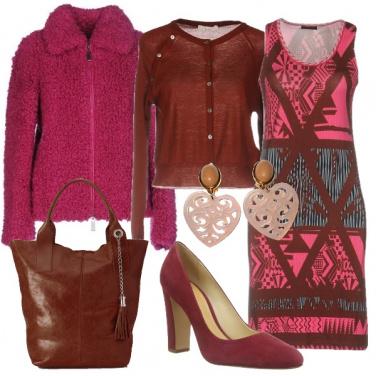 Outfit Fragola e cioccolato