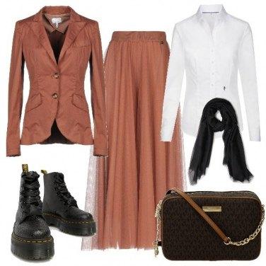 Outfit Tailleur fuori dagli schemi