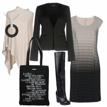 Outfit L\'abito positivo-negativo
