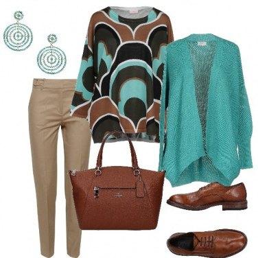 Outfit La maglia etnica