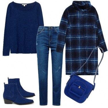 Outfit Semplicemente in blu