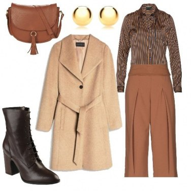 Outfit Camicia sblusata