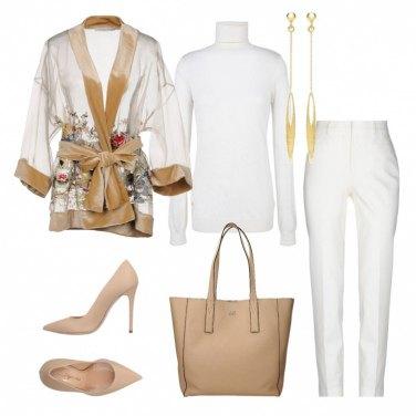 Outfit La giacca kimono