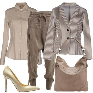 Outfit Comoda con i tacchi