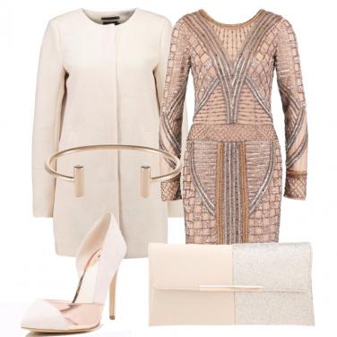 Outfit Metallo rosa