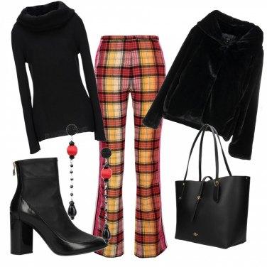 Outfit Colore e sobrietà