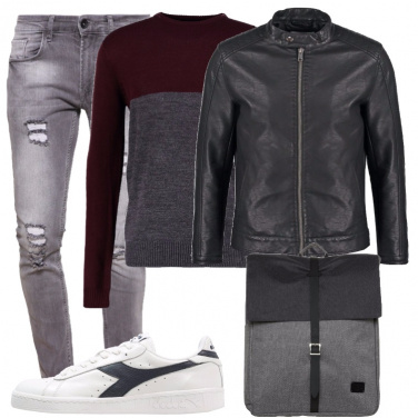Outfit Grigio sempreverde