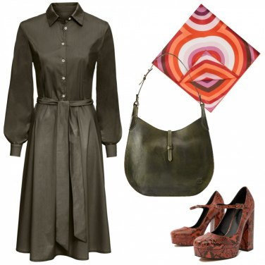 Outfit Ever green