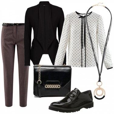 Outfit Chic basic da giorno