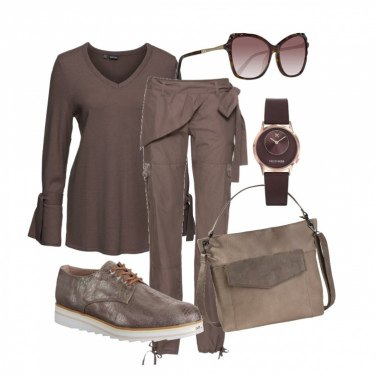 Outfit Marrone total look