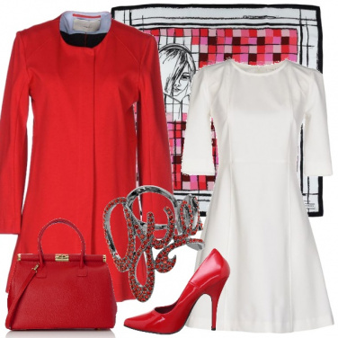 Outfit Vivacemente rosso