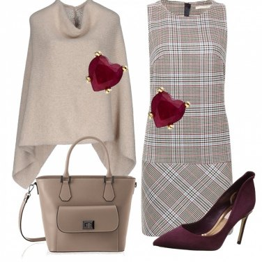 Outfit Cuore rosso