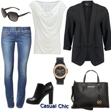 Outfit Casual chic