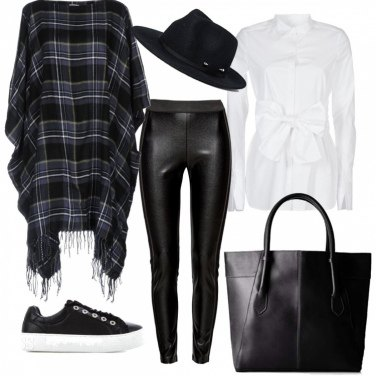 Outfit Trendy in ecopelle