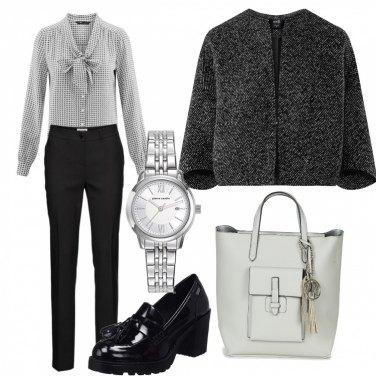 Outfit Fiocco e pois