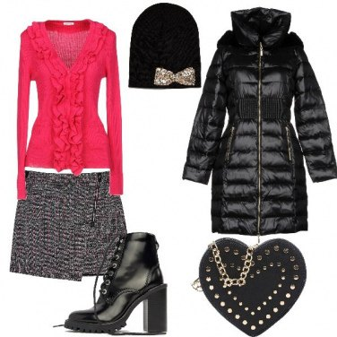 Outfit Mini e stivaletto