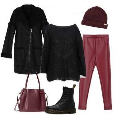 Outfit Leggins trendy