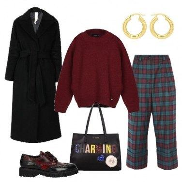 Outfit Il pantalone scozzese
