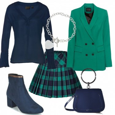 Outfit Gonnellina tartan