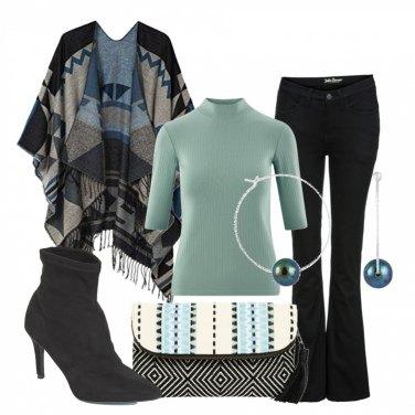 Outfit La mantella per il giorno