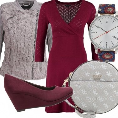 Outfit Marsala soft