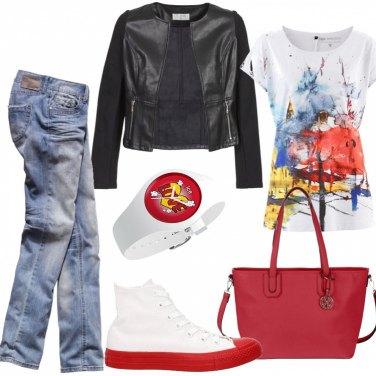 Outfit L\'allegria del rosso