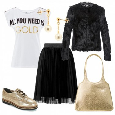 Outfit All you need is GOLD