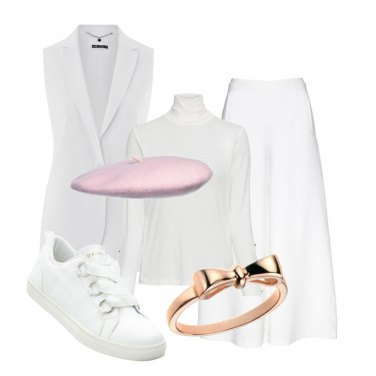 Outfit Il basco rosa