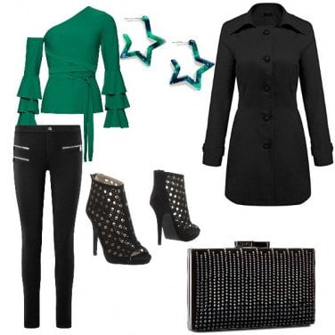 Outfit Sexi in verde