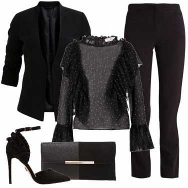 Outfit Serata in total black
