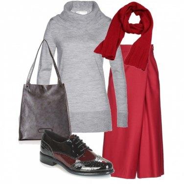 Outfit Rosso caldo